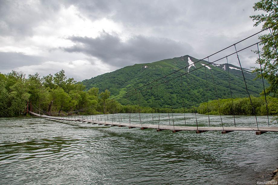 Река Быстрая на Камчатке, где планировалась добыча россыпного золота