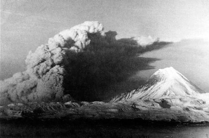 Катастрофа извержения Безымянного вулкана