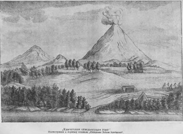 описание вулканов Камчатки